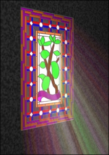 Example Stained Glass Window